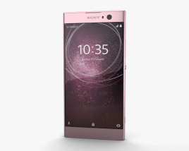3D model of Sony Xperia XA2 Pink