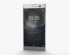 3D model of Sony Xperia XA2 Silver
