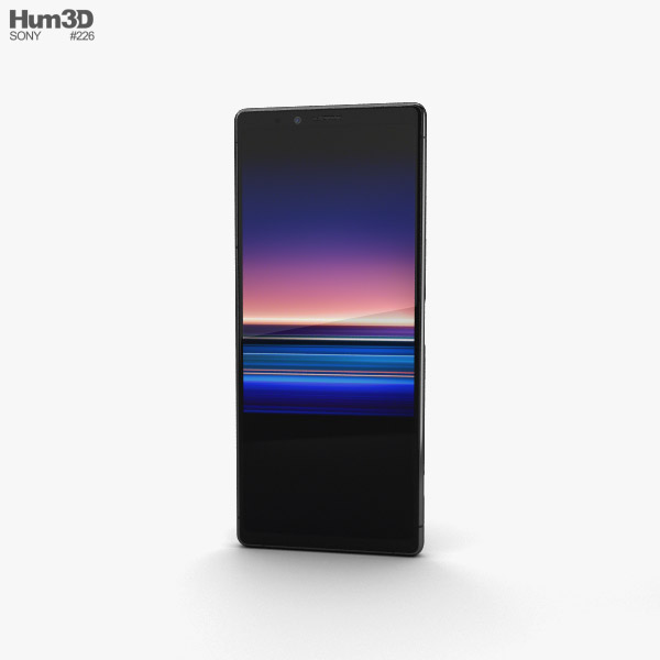 Sony Xperia 1 Black 3D model