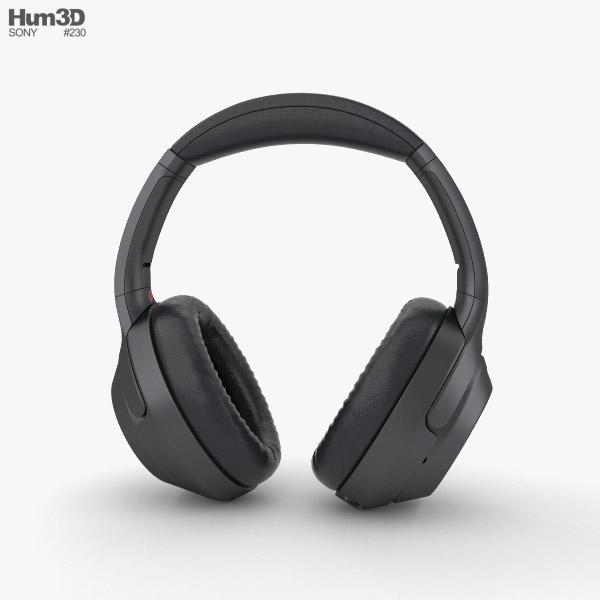 Sony WH-1000XM3 Black 3D model