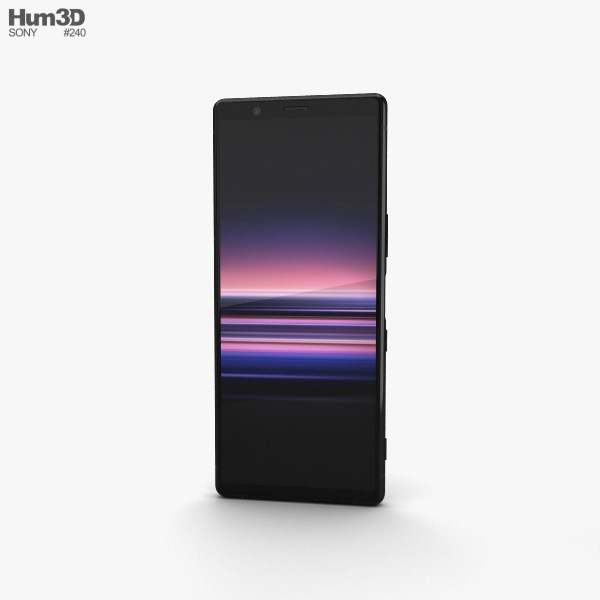 Sony Xperia 5 Black 3D model