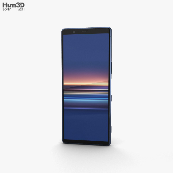 Sony Xperia 5 Blue 3D model
