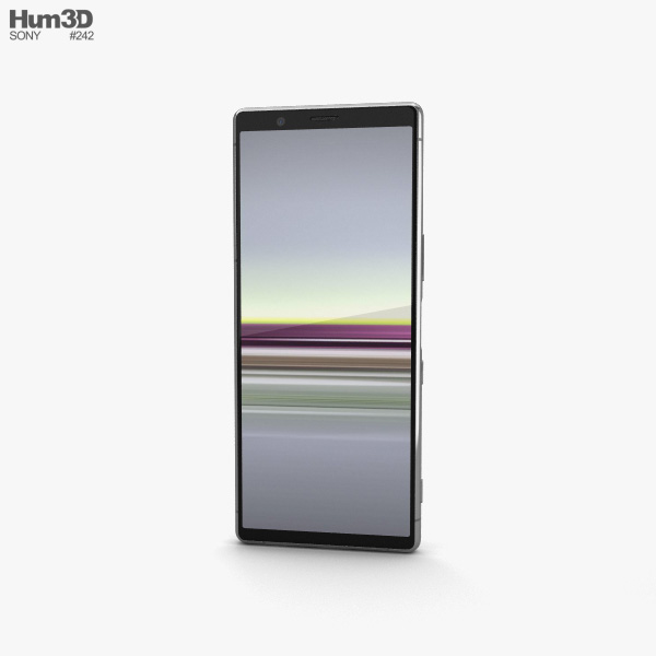 Sony Xperia 5 Grey 3D model