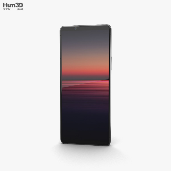 Sony Xperia 1 II Black 3D model