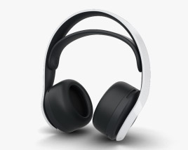 3D model of Sony PULSE 3 Wireless Headset