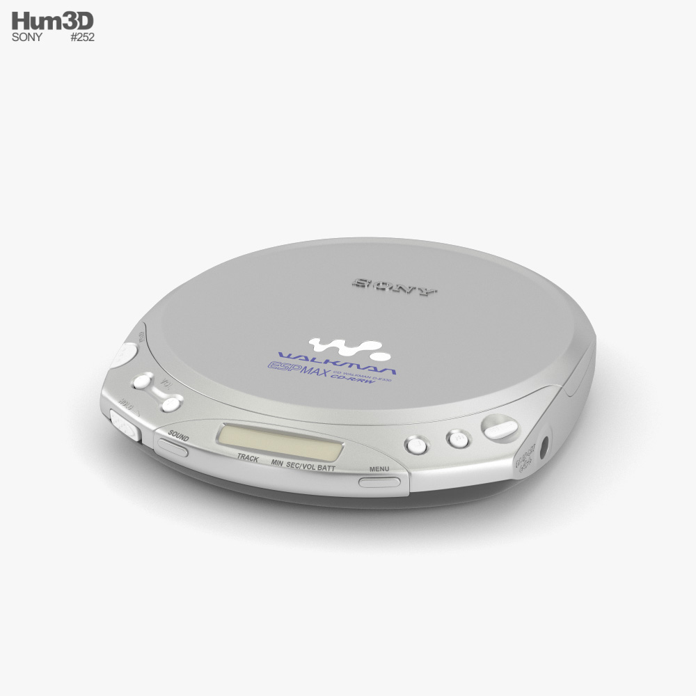 Sony Walkman CD Player 3D model