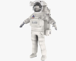 3D model of Astronaut EVA suit