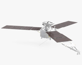 3D model of Juno spacecraft