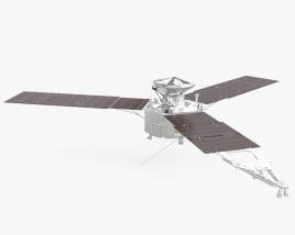 Juno spacecraft 3D model