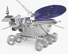 3D model of Lunokhod 2