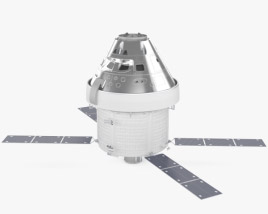 3D model of Orion spacecraft