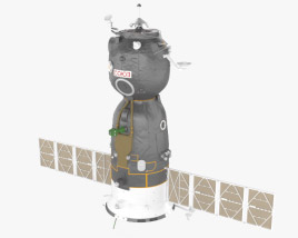 3D model of Soyuz TMA-01M