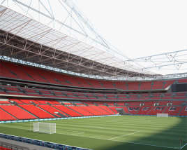 3D model of Wembley Stadium