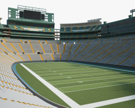 3D model of Lambeau Field