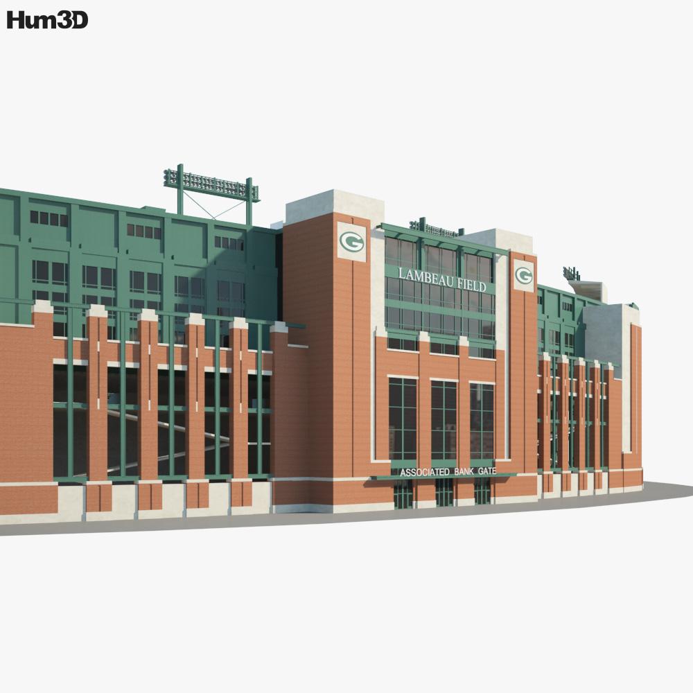 Lambeau Field 3d model