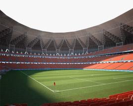 King Abdullah Sports City Stadium 3D model