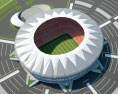 King Abdullah Sports City Stadium 3d model