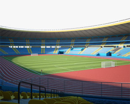 3D model of Aleppo International Stadium