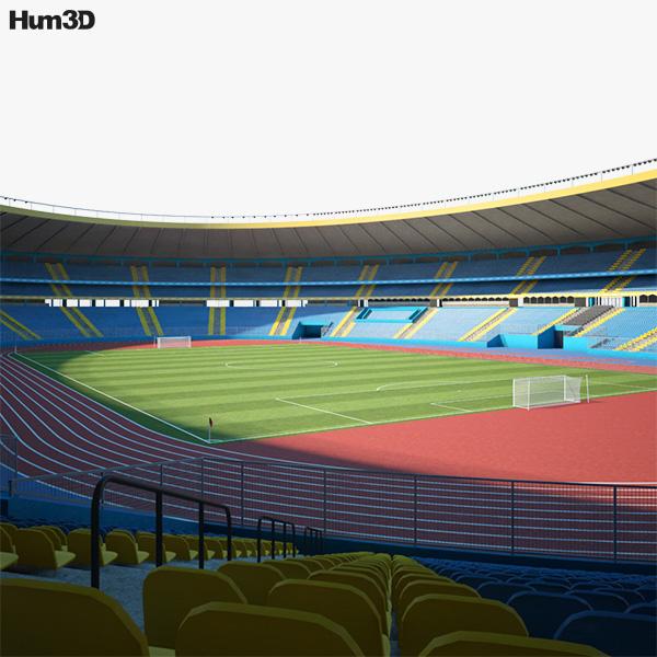 3D model of Aleppo International Stadium