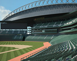 3D model of Safeco Field