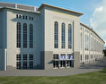 Yankee Stadium 3d model