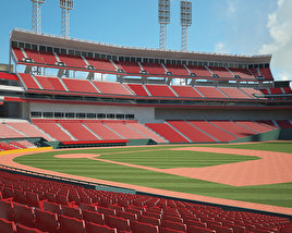 3D model of Great American Ball Park