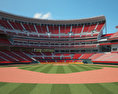 Great American Ball Park 3d model