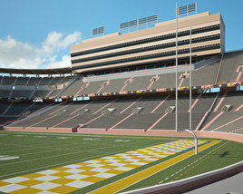 3D model of Neyland Stadium