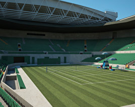 3D model of Centre Court