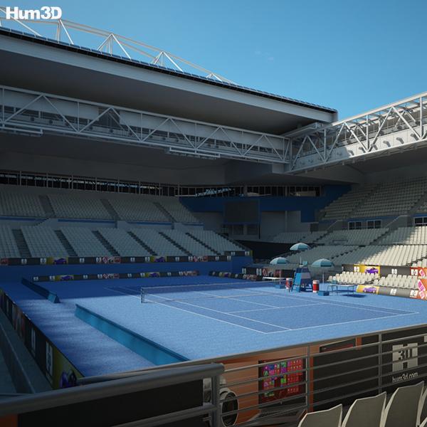 3D model of Hisense Arena