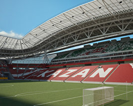 3D model of Kazan Arena