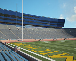 Michigan Stadium 3D model
