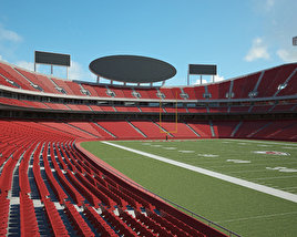 3D model of Arrowhead Stadium