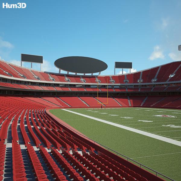 Arrowhead Stadium 3D model