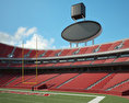 Arrowhead Stadium 3d model
