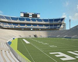 3D model of Beaver Stadium