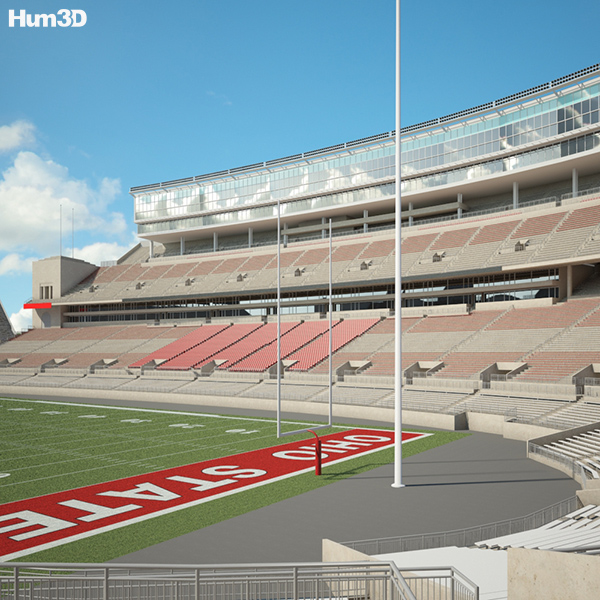 3D model of Ohio Stadium