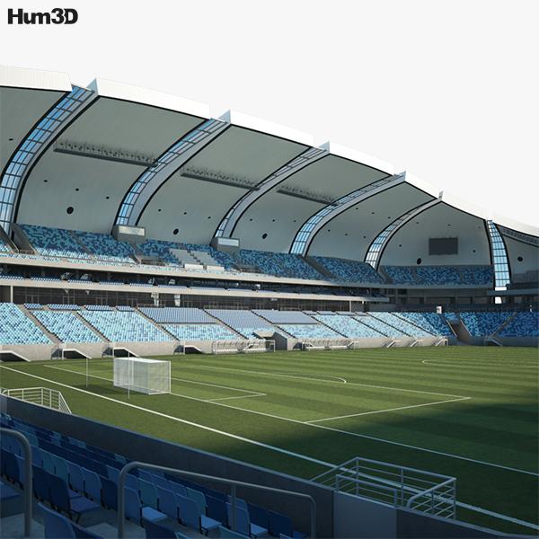 Arena das Dunas 3D model