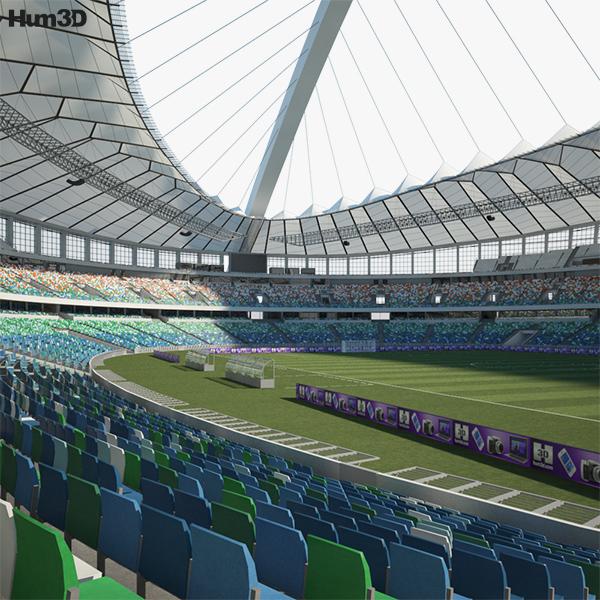 Moses Mabhida Stadium 3D model