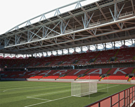 3D model of Spartak Stadium