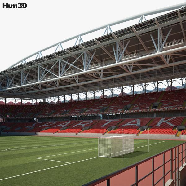 3D model of Spartak Stadium