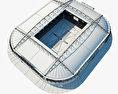 Spartak Stadium 3d model