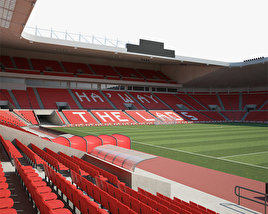 3D model of Stadium of Light
