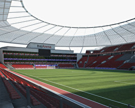 3D model of BayArena