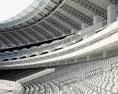 Baku Olympic Stadium 3d model