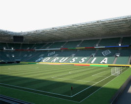 3D model of Borussia Park