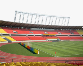 3D model of Workers Stadium