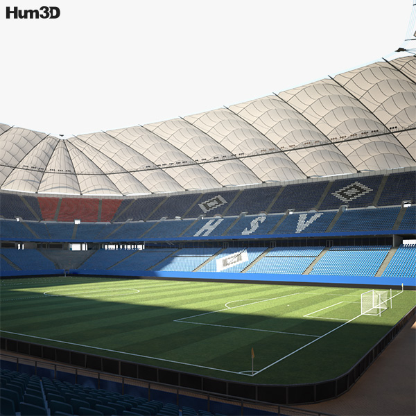 3D model of Volksparkstadion