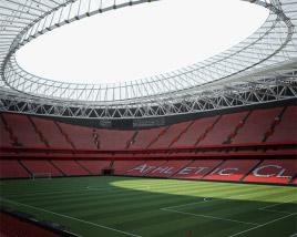 3D model of San Mames Stadium