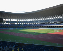 3D model of Salt Lake Stadium